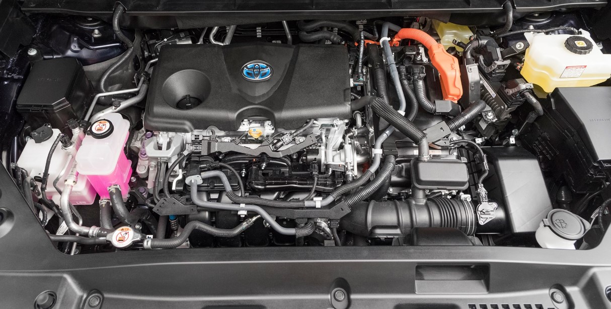 2020 Toyota Highlander Engine