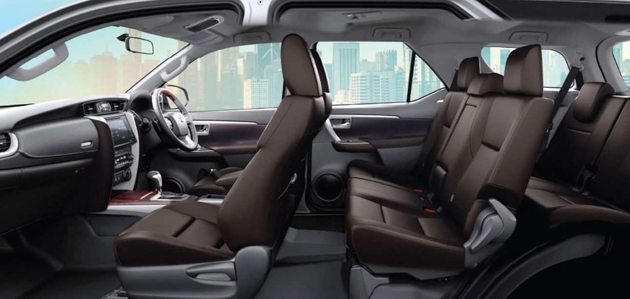 Toyota Fortuner 2021 Interior