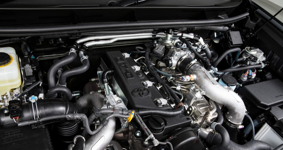 2021 Toyota Prado Engine