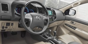 Toyota Fortuner 2020 Interior