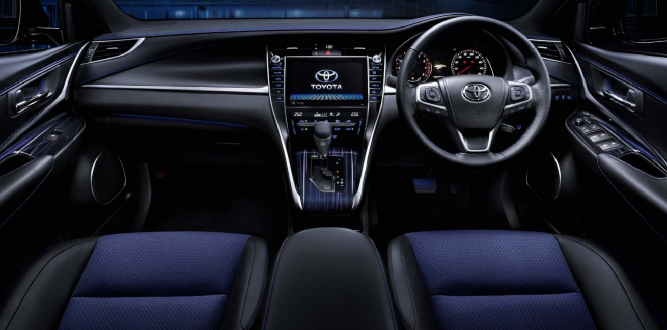 2020 Toyota Harrier Interior
