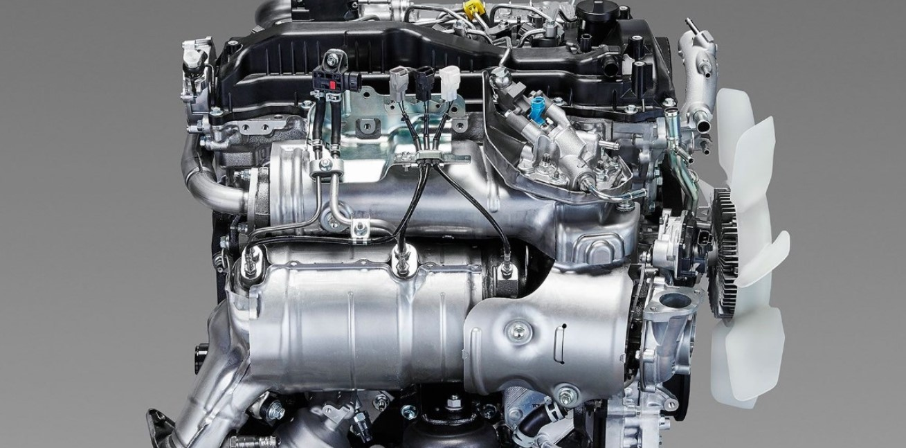 2020 Toyota Tacoma Engine