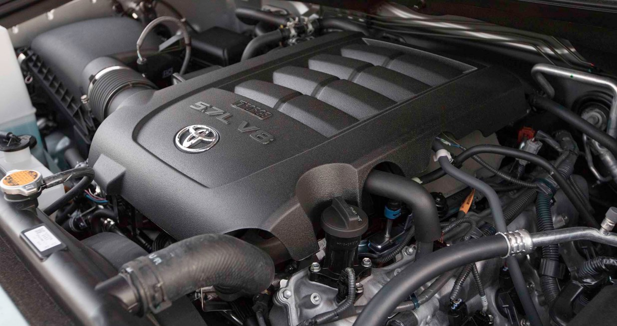 2022 Toyota Sequoia Engine