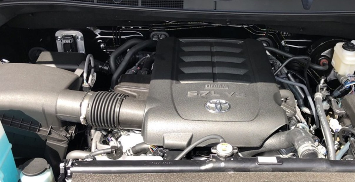 2022 Toyota Tundra Engine