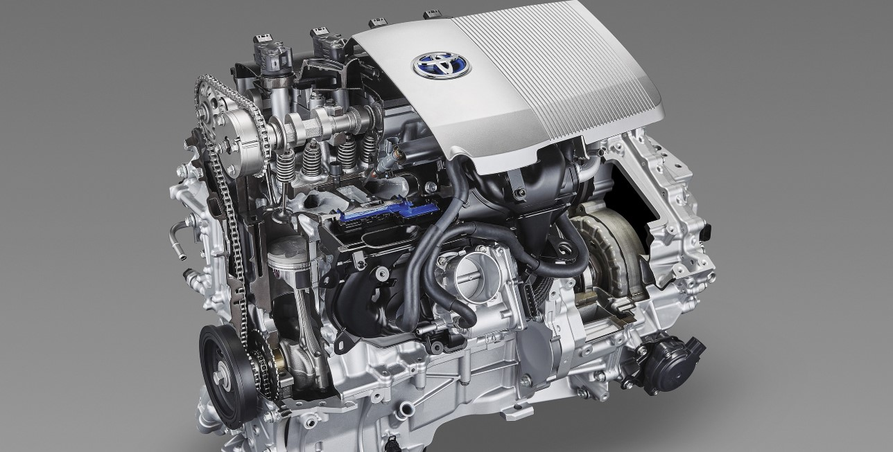 2022 Toyota CHR Engine