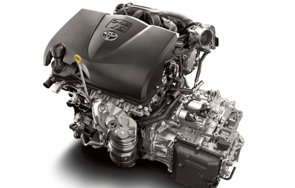2021 Toyota Highlander Engine