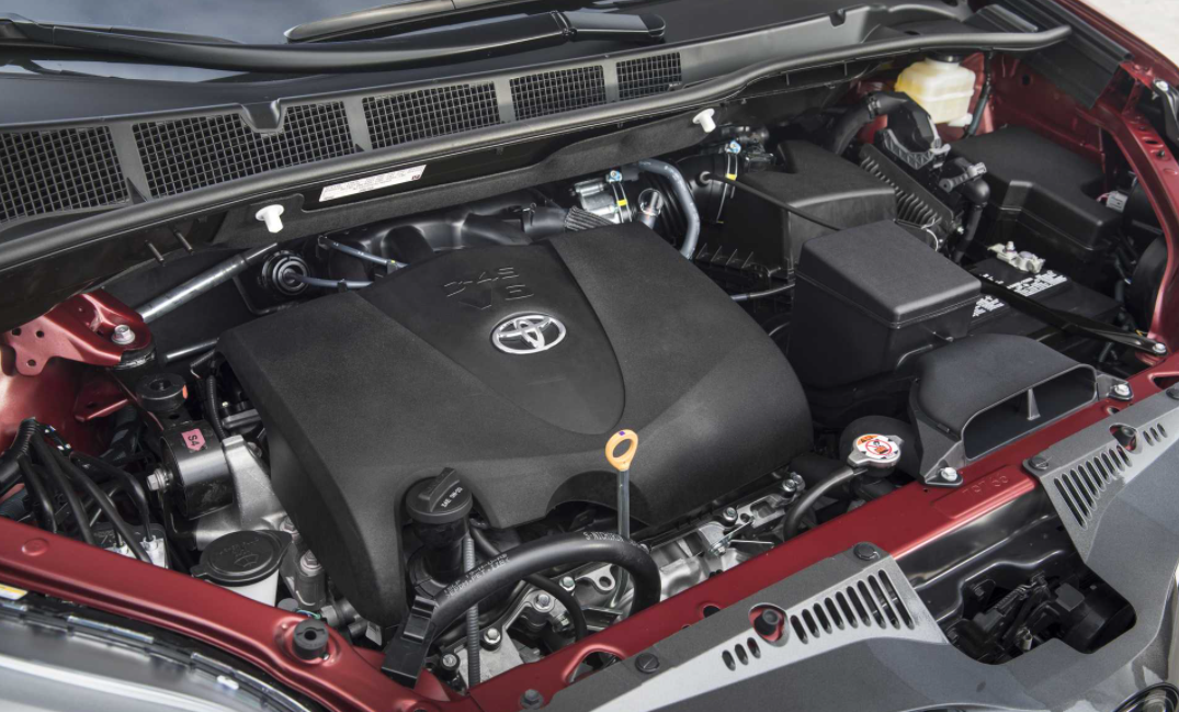 2021 Toyota Sienna Engine