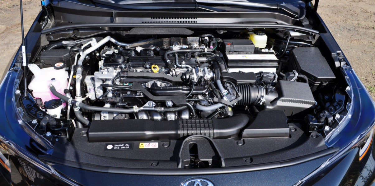 New 2022 Toyota Corolla Engine
