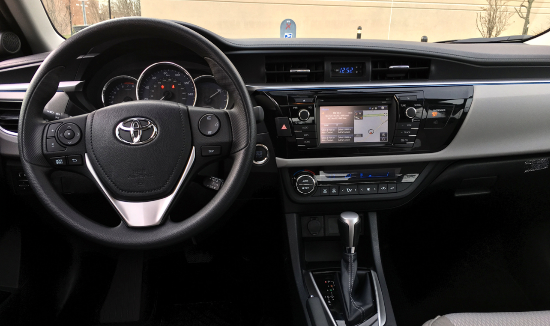 New 2022 Toyota Corolla Interior
