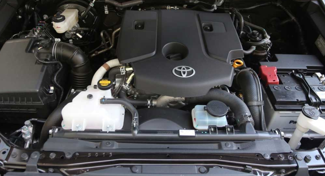 New 2022 Toyota Fortuner Engine