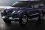 New 2022 Toyota Fortuner Exterior