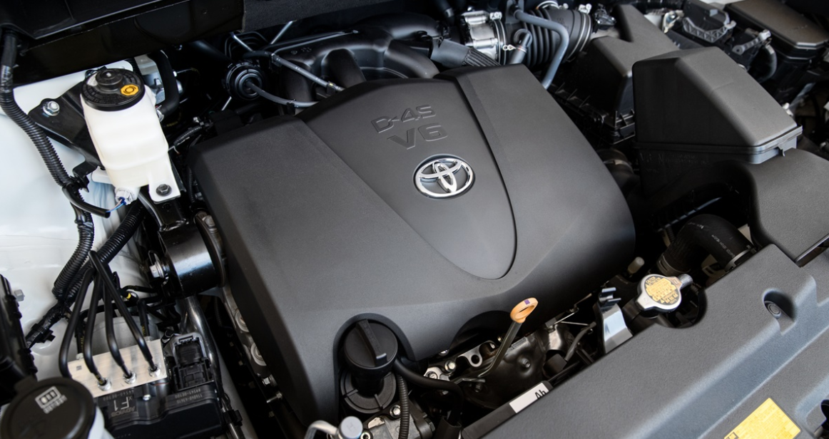New 2022 Toyota Kluger Engine