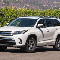 New 2022 Toyota Kluger Exterior