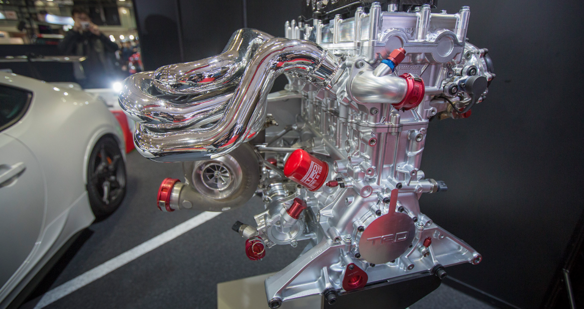 New 2022 Toyota Supra Engine